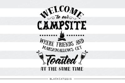 Our Campsite Svg