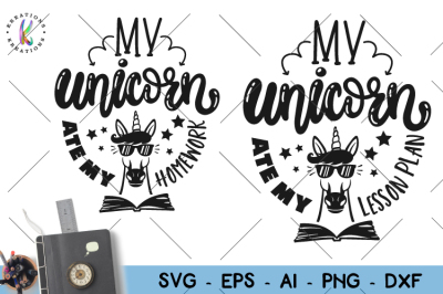 Magical Unicorn Face Svg Png Eps Dxf Cut File