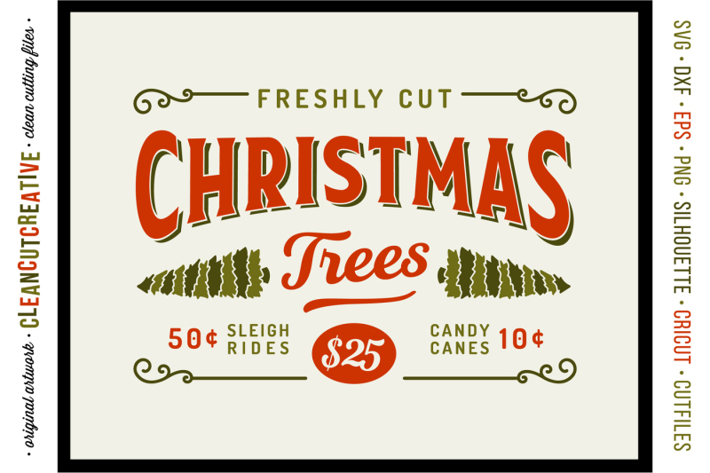 Fresh Cut Christmas Trees Sign.Free Fresh Cut Christmas Trees Rustic Farm Wood Sign