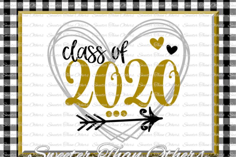 Senior Svg Class Of 2020 Cut File Svg Htv T Shirt Design Vinyl