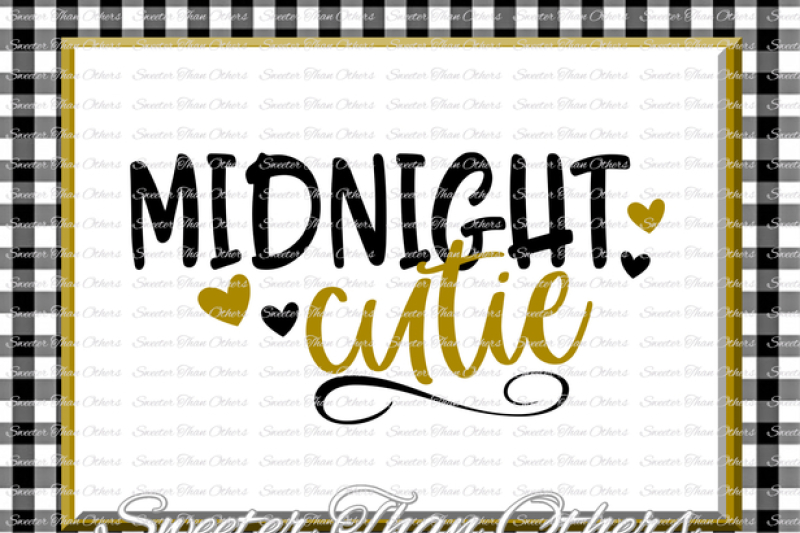 Download Midnight Cutie svg, New Year 2018 SVG Dxf Silhouette ...