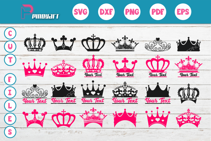 Free Crown Svg Crown Dxf Crown Png Crown Pdf Crown Vector Crown Clip Art Crown Print Crown Design Crown Crafter File Download Best Free 15219 Svg Cut Files For Cricut Silhouette And More