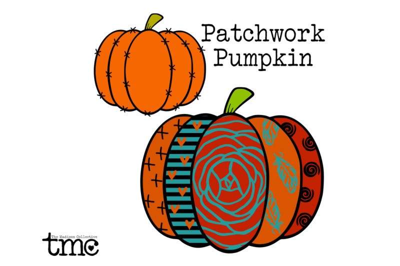 Download Free Patchwork Pumpkin Crafter File
