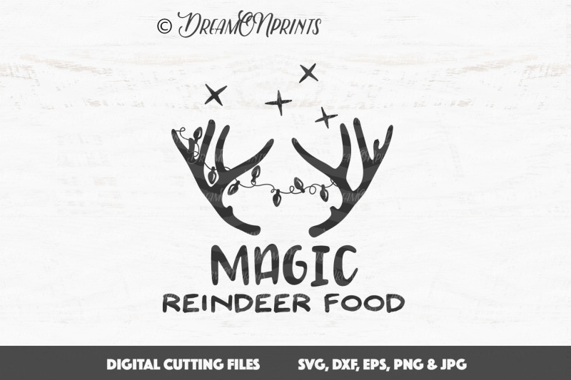 Magic Reindeer Food Svg Vector Design Free Download Best Of Svg Vectors Photos And Psd Files