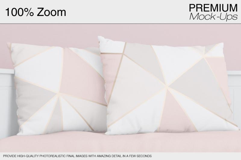 Free Mockup Pillow