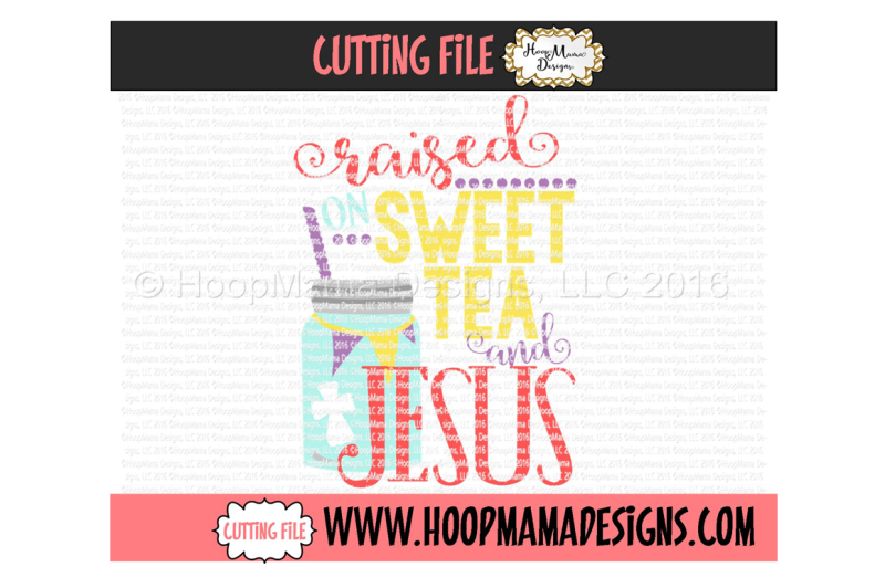 Free Raised On Sweet Tea And Jesus Svg Free Cloud Icon Svg