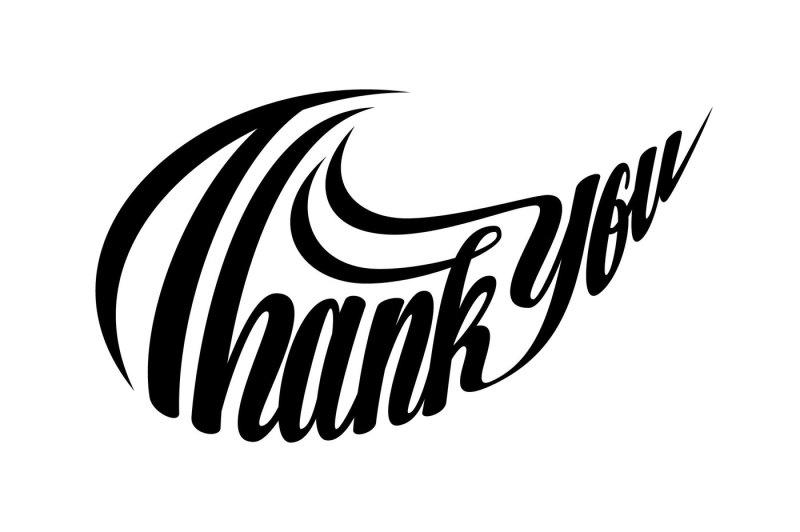 Free Thank You Lettering Swoosh Shape Svg Crafter File Download Free Svg Cut Files Cricut Silhouette Design