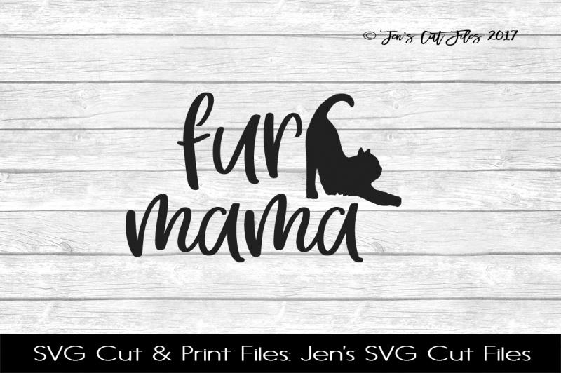 Fur Mama Svg Cut File Design Free Download Svg Files Hobbies