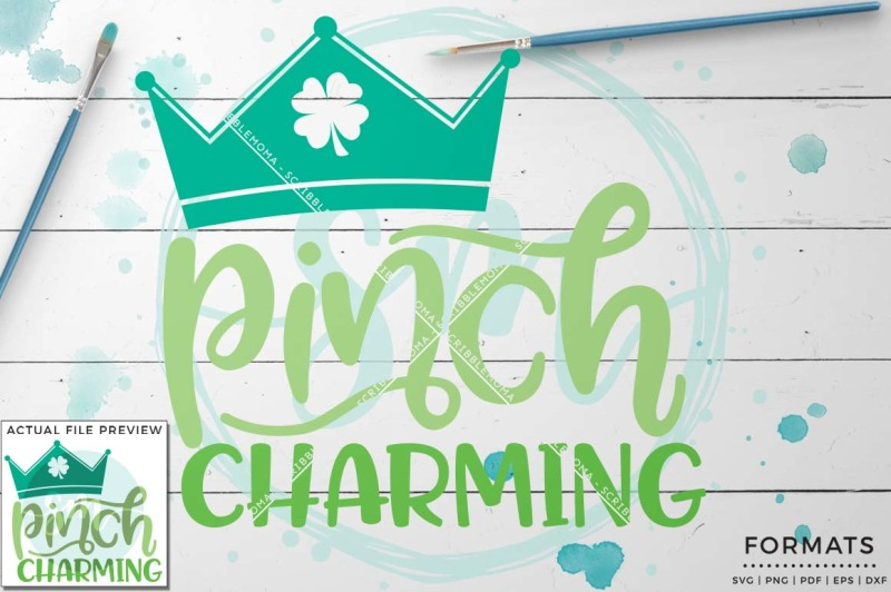 Download Free Pinch Charming Svg Small Commercial Use Svg & Instant Download Crafter File