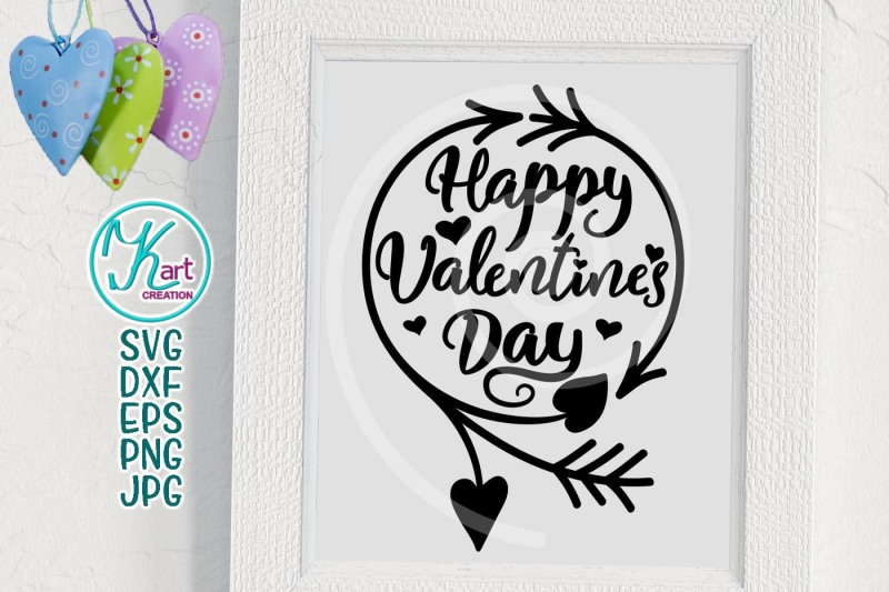 Download Free Happy Valentines Day Svg Valentines Day Svg Hand Lettered Svg Silho Design Svg File Free Scan And Cut PSD Mockup Template