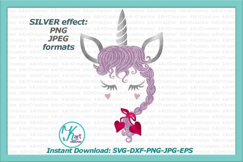 Free Valentines day unicorn svg, Valentine unicorn svg