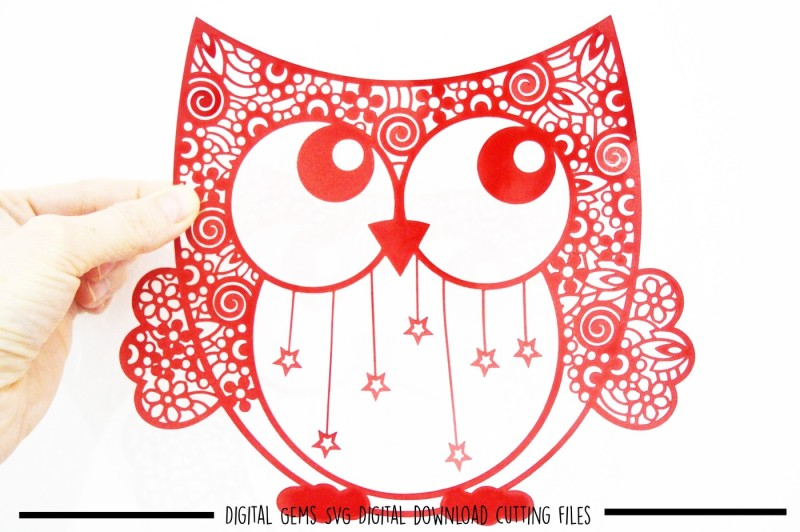 Owl Paper Cut Svg Dxf Eps Files Design All Free Svg File New