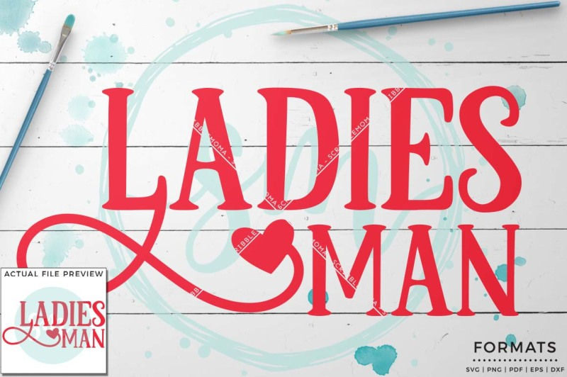 Free Ladies Man Svg Small Commercial Use Svg Instant Download Crafter File Free Svg Designs Home