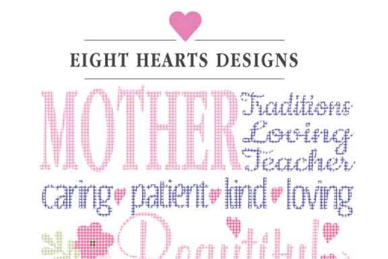 Mothers Day Mom Love Svg Dxf Png Eps Cutting Design By Eight