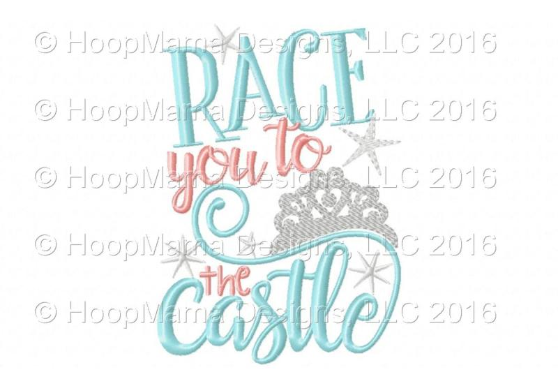 Race You To The Castle Design Best Free Svg Icon