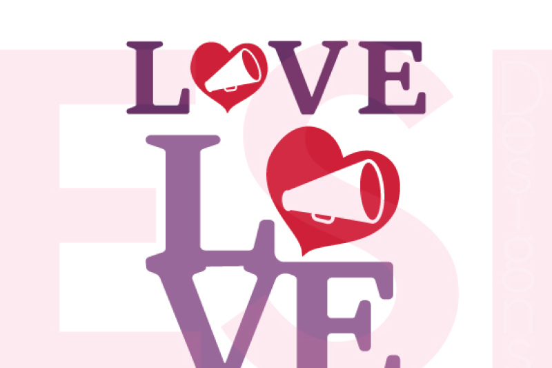 Free Cheerleader Love Design Svg Dxf Eps Cutting Files Crafter File Claudia Svg Free Files
