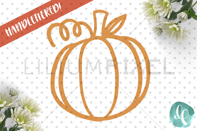 Free Pumpkin Outline / SVG PNG JPEG DXF Crafter File - SVG