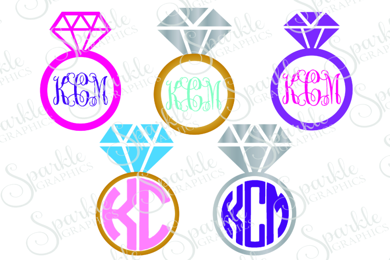 Free Ring Monogram Frame Cut File Crafter File Free Svg Cut Design Files For Cricut And Cameo