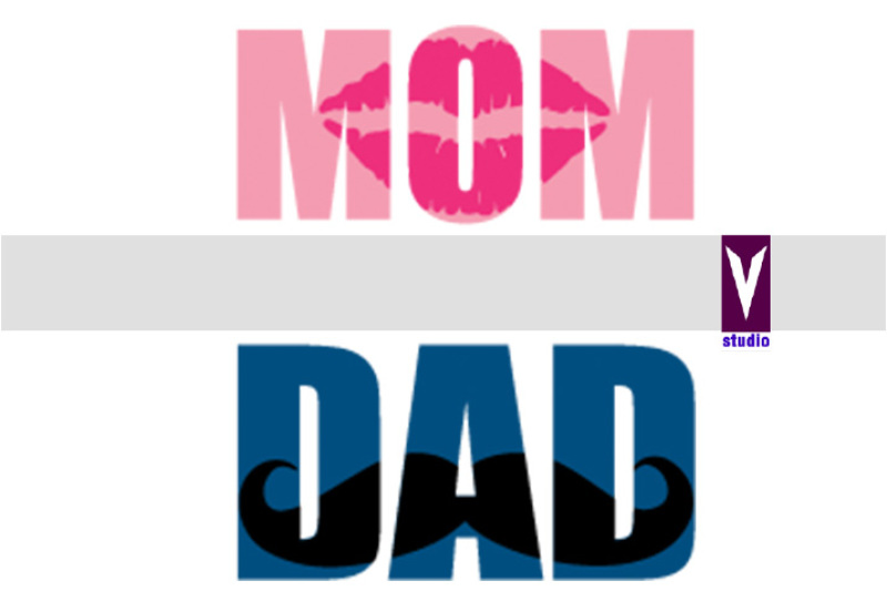 Mom And Dad By V Studio Thehungryjpeg Com