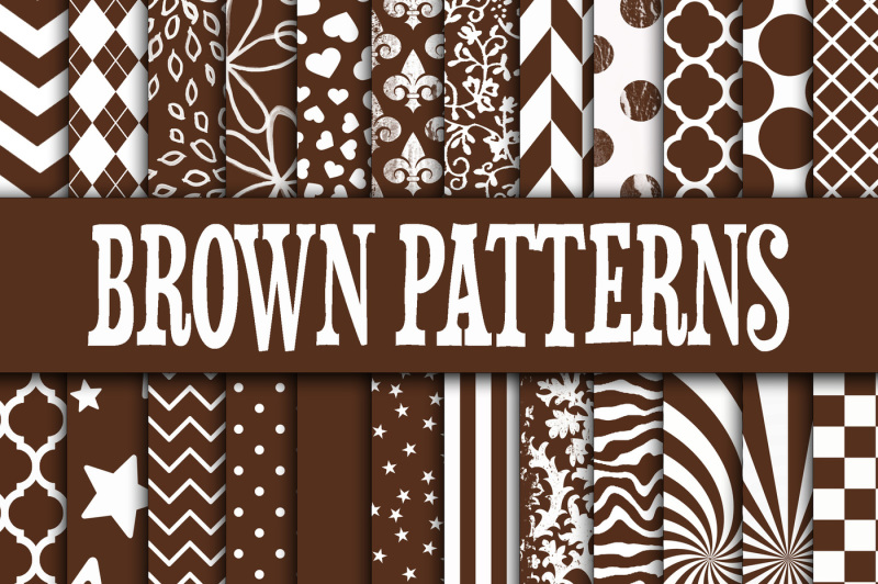 Free Brown Patterns Digital Paper Crafter File Get New Everything You Need To Know About Svg Css Tricks