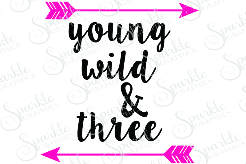 Free Young Wild Three Cut File Crafter File Free Svg Cuts