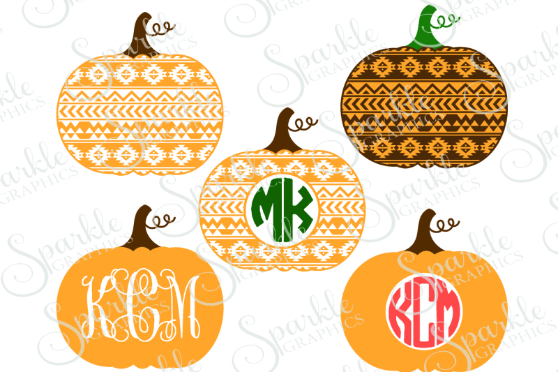 Download Free Aztec Pumpkin Cut File Crafter File