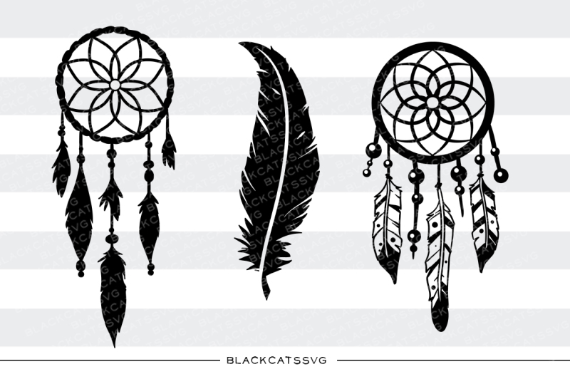 Dreamcatcher And Feather Svg File Design Free Raiders Svg File