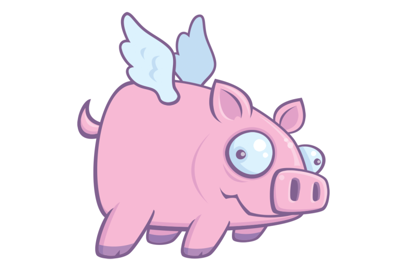 When Pigs Fly By Fizzgig Thehungryjpegcom