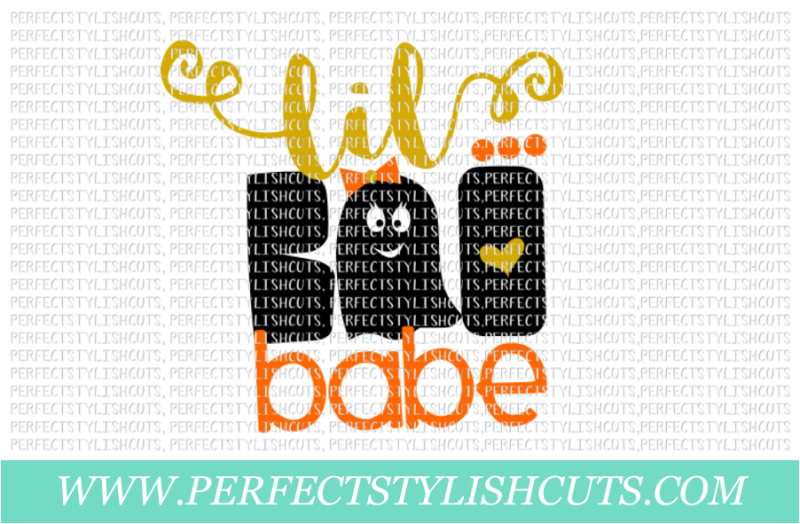 Download Free Lil Boo Babe Svg Eps Dxf Png Files For Cutting Machines Crafter File