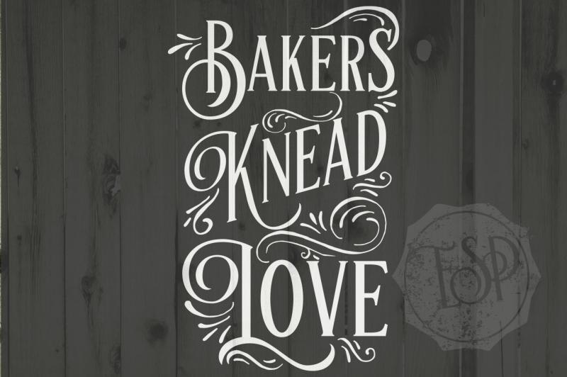 Bakers Knead Love Svg Dxf Png Cutting File Printable Description Design Free Svg Cut Files Cricut