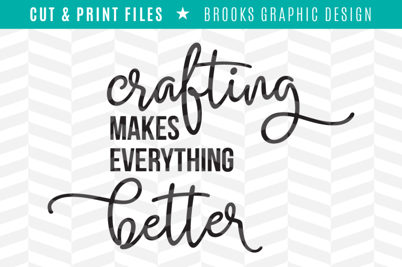 Free Crafting Makes Everything Better Dxf Svg Png Pdf Cut Print Files Svg Free Beach Svg Cut Files