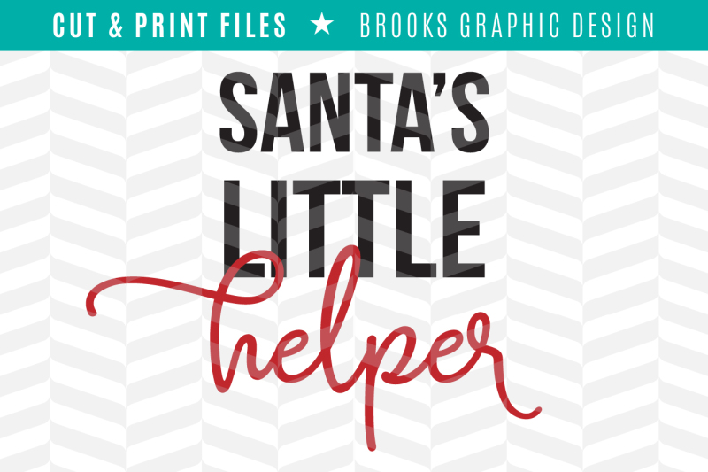 Free Santa S Little Helper Dxf Svg Png Pdf Cut Print Files Crafter File Free Svg Images