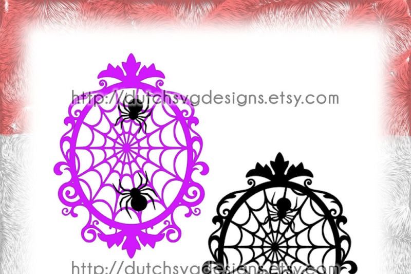 Free Halloween Cutting File Frame With Decorated Border And Pumpkins In Jpg Png Svg Eps Dxf For Cricut Silhouette Curls Curl Swirls Swirly Crafter File Download Free Svg Cut Quotes