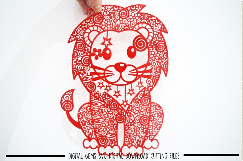 Free Lion Paper Cut Svg Dxf Eps Files Crafter File The Big List Of Places To Download Free Commercial Use Svg Cut Files