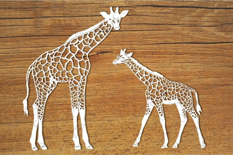Free Giraffes SVG files for Silhouette Cameo and Cricut  Crafter