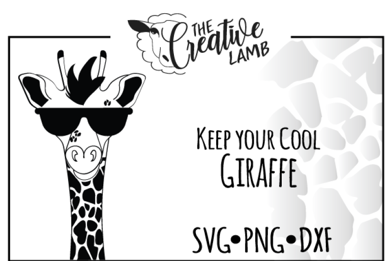 Giraffe Svg Animal Svg Cute Svg By The Creative Lamb