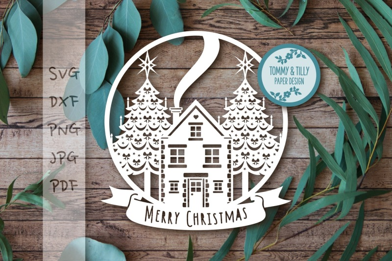 Christmas Scene Globe Svg Dxf Png Pdf Jpg Scalable Vector Graphics Design Free Download Svg Files Cowgirl