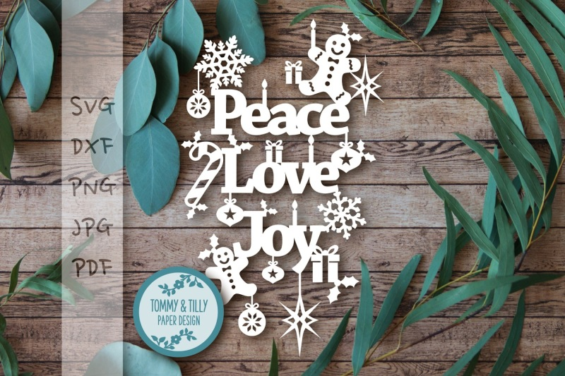 Free Peace Love Joy Svg Dxf Png Pdf Jpg Crafter File Free Svg Cut Files Grinch