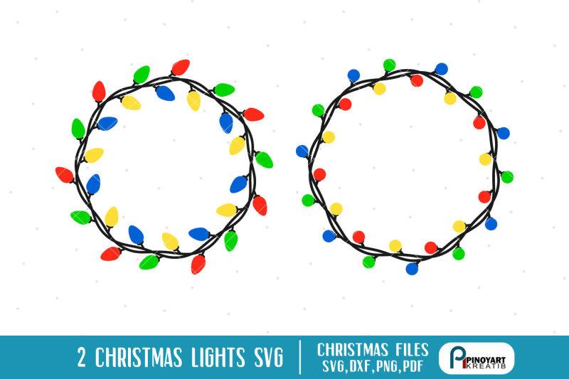 Free Christmas Lights Svg.Free Christmas Lights Svg Christmas Lights Dxf Christmas Svg
