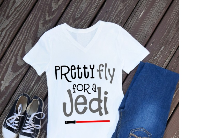 pretty fly for a jedi svg, star wars t shirt, jedi svg, svg