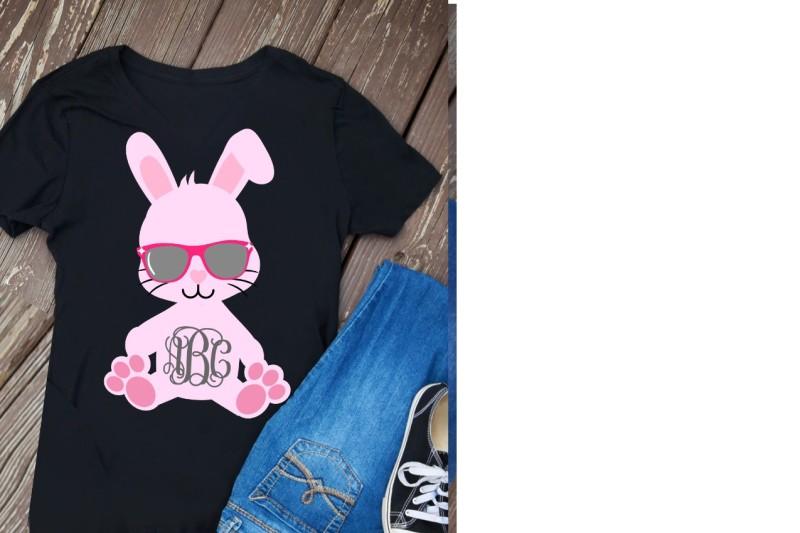 c713f1ba Free easter svg, easter girl svg, easter svg girl, bunny monogram svg,