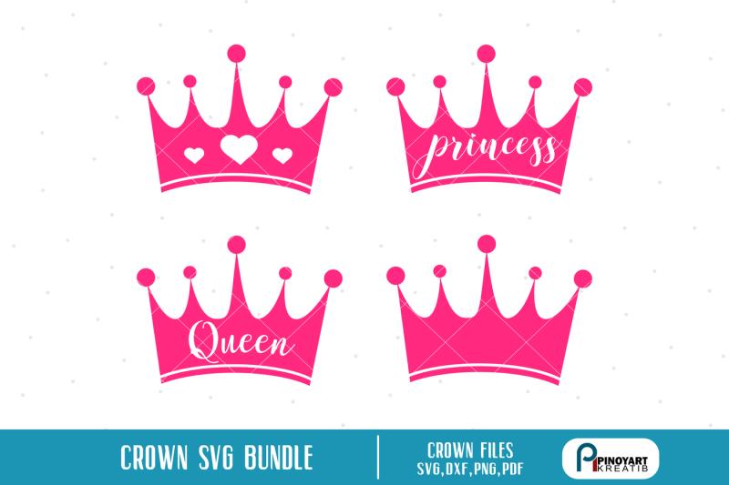 Crown Svg Crown Svg File Crown Dxf File Princess Crown Svg