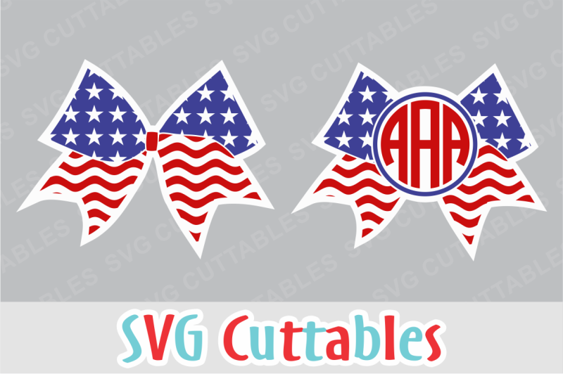 Free Flag Cheer Bow And Monogram Frame Crafter File Download Free Svg Files