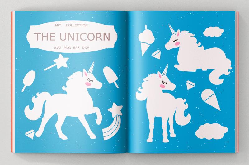 Free Unicorn SVG cut files, Clipart, Illustration Crafter