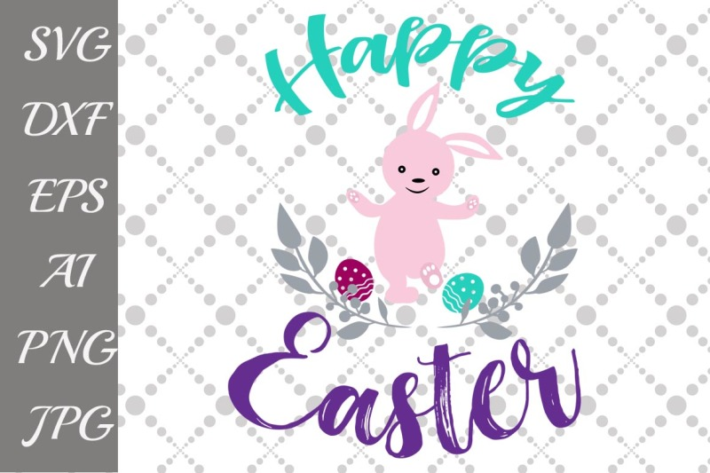 Happy Easter Svg By Prettydesignstudio Thehungryjpeg Com