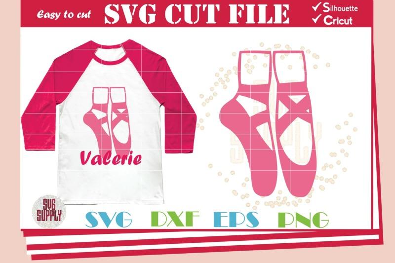 Download Free Ballerina Shoes Svg Ballet Shoes Svg Cut File Crafter File