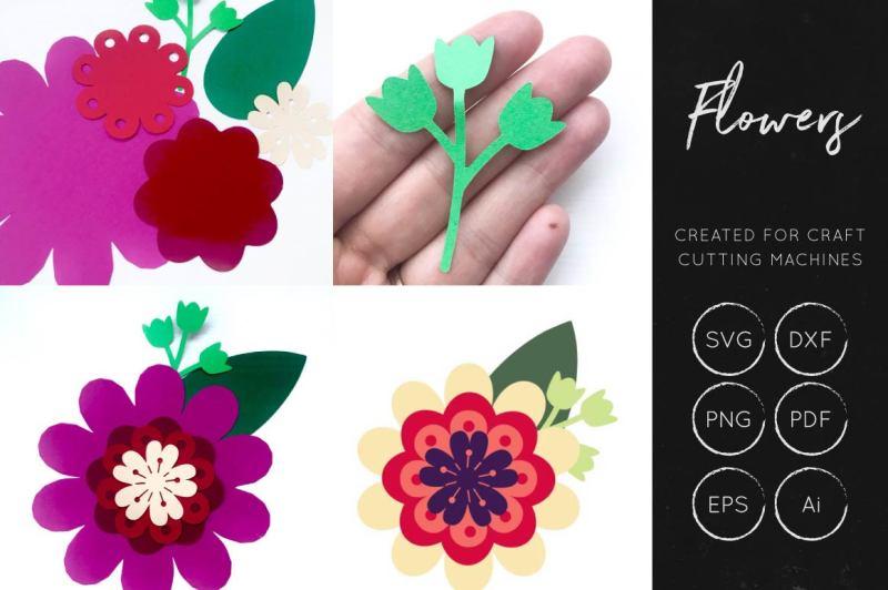 free vector flower eps file download