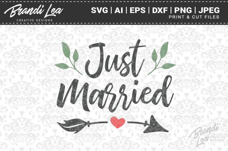 Free Just Married Svg Cut Files Crafter File