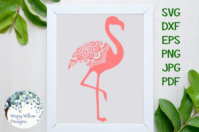Flamingo Mandala Svg Dxf Eps Png Jpg Pdf Design Free Svg Quotes Cut Files