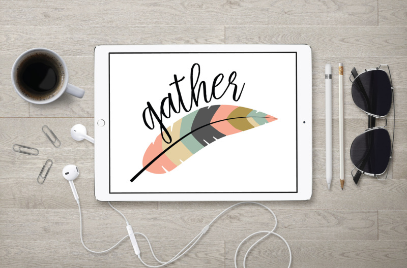 Gather Svg Feather Svg Dxf File Cuttable File Scalable Vector Graphics Design Download Svg Files Music